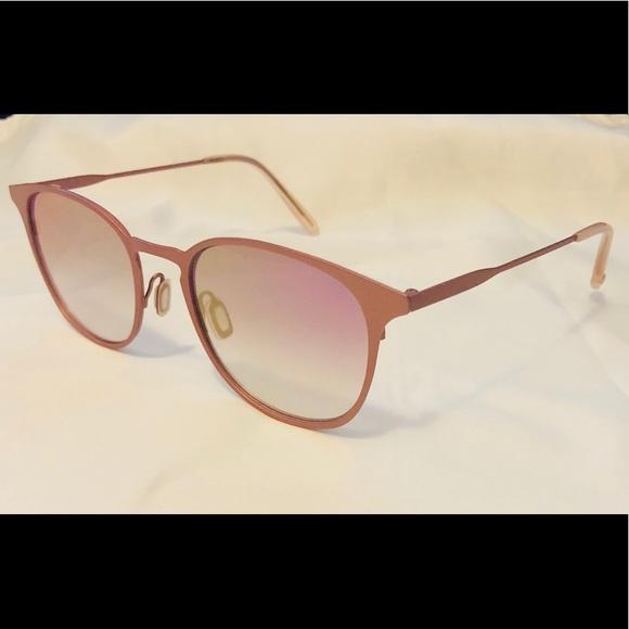 3c85b3c679 EUC Garrett Leight (GLCO) Kinney M Pink Sunglasses
